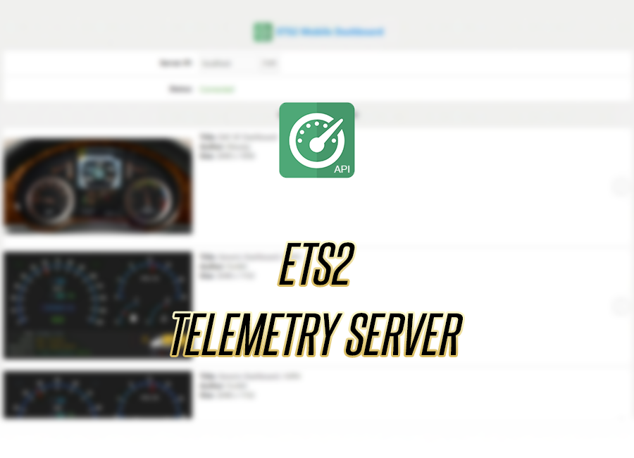 ETS2 Telemetry Splash