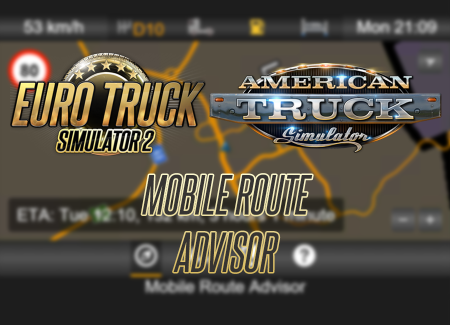 Mobile Route Advisor Splash