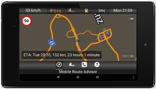 ETS2 / ATS Mobile Route Advisor